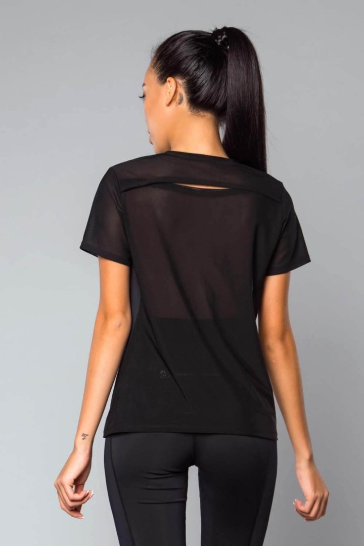 Женская Футболка Basic Oversize Black