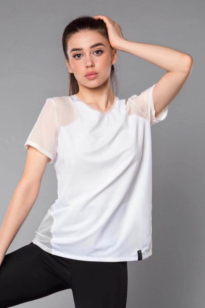 Женская Футболка Basic Oversize White