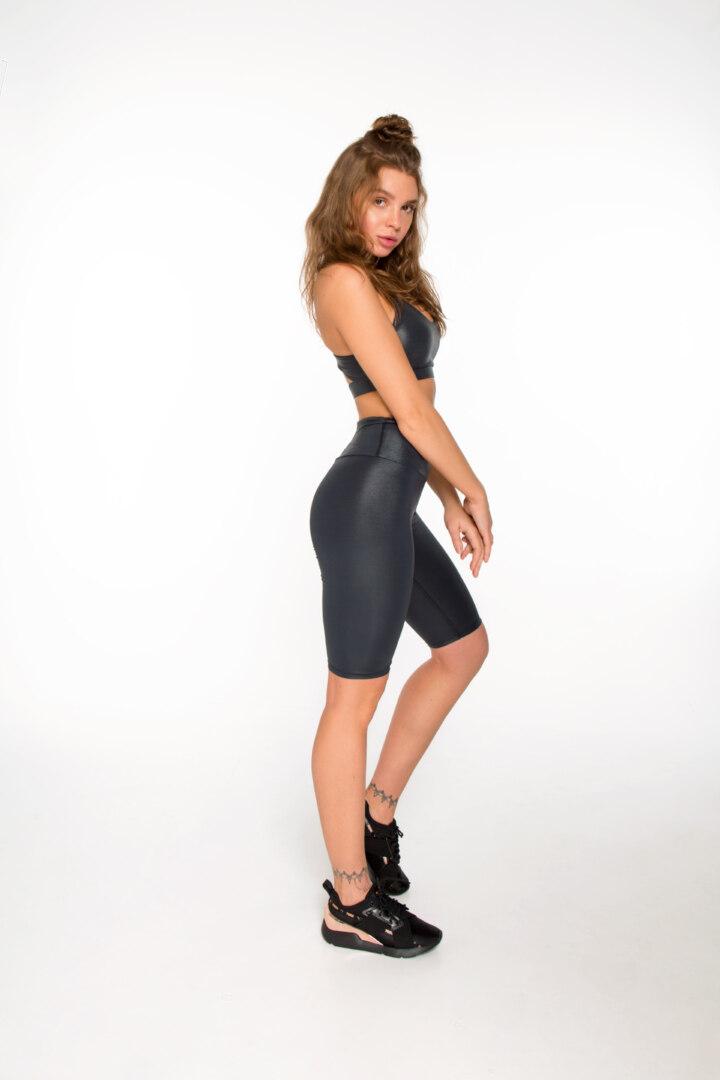 Спортивный женский комплект Luminas Carbon