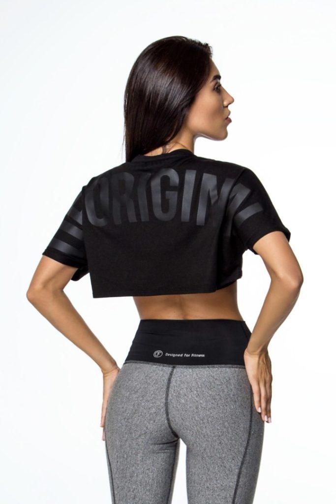 Женская футболка с логотипом DF