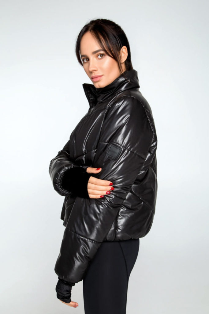 Женская куртка DF ORIGINAL PUFFER Black