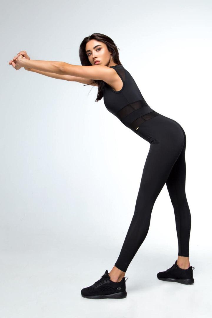 Женский спортивный комбинезон для фитнеса