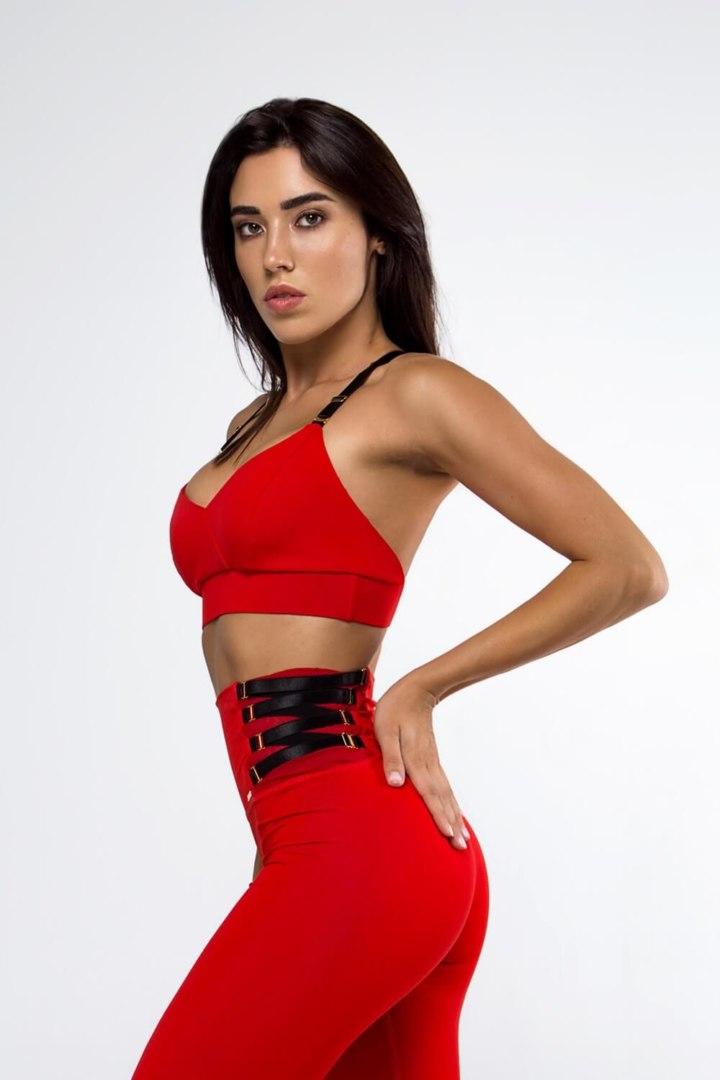 Женский красный топ Essential