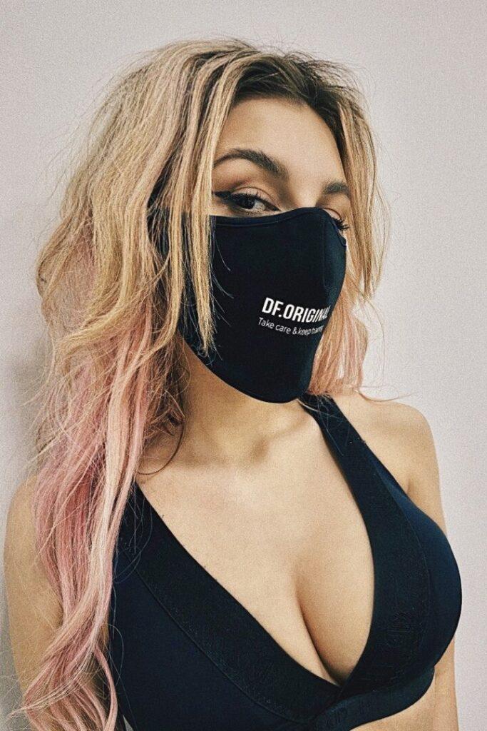 Спортивная защитная маска для лица