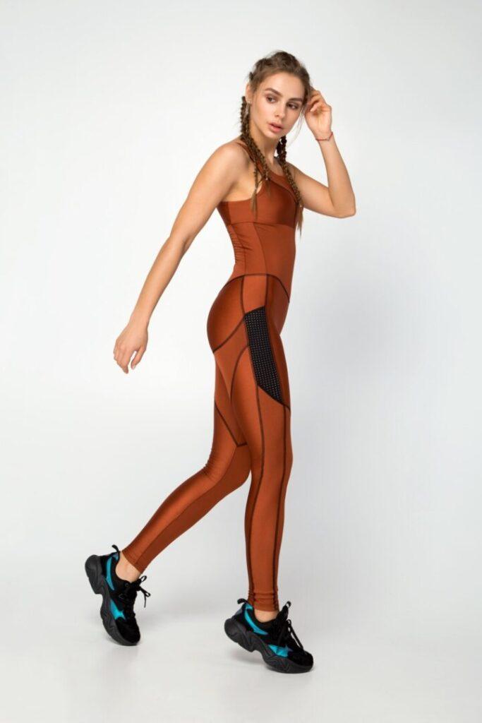 Комбинезон спортивный для танцев, фитнеса и йоги