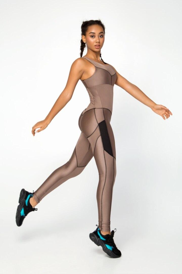 Женский комбинезон для фитнеса