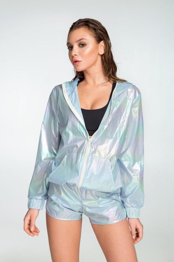 Модная женская ветровка, курточка