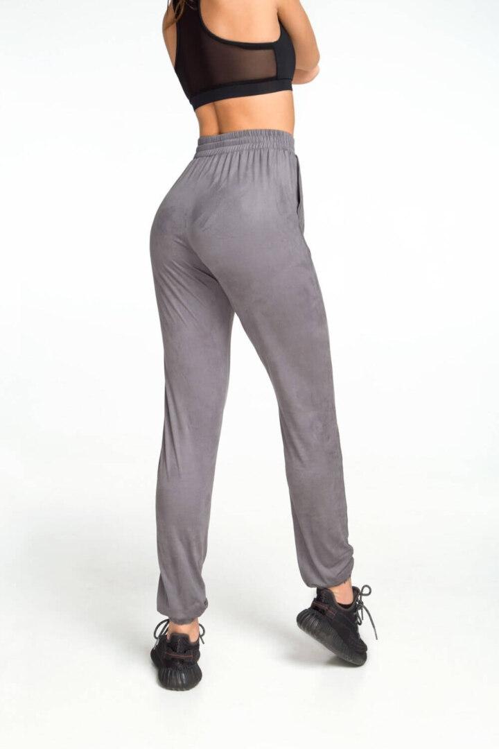 Женские серые спортивные штаны
