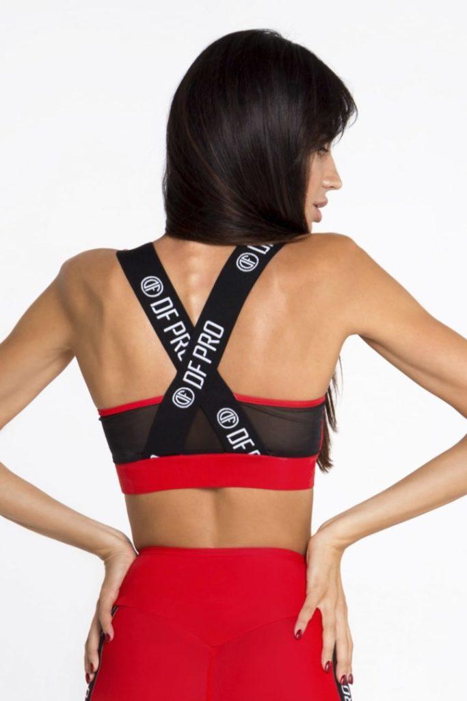Спортивный топ для фитнеса, женская одежда DF