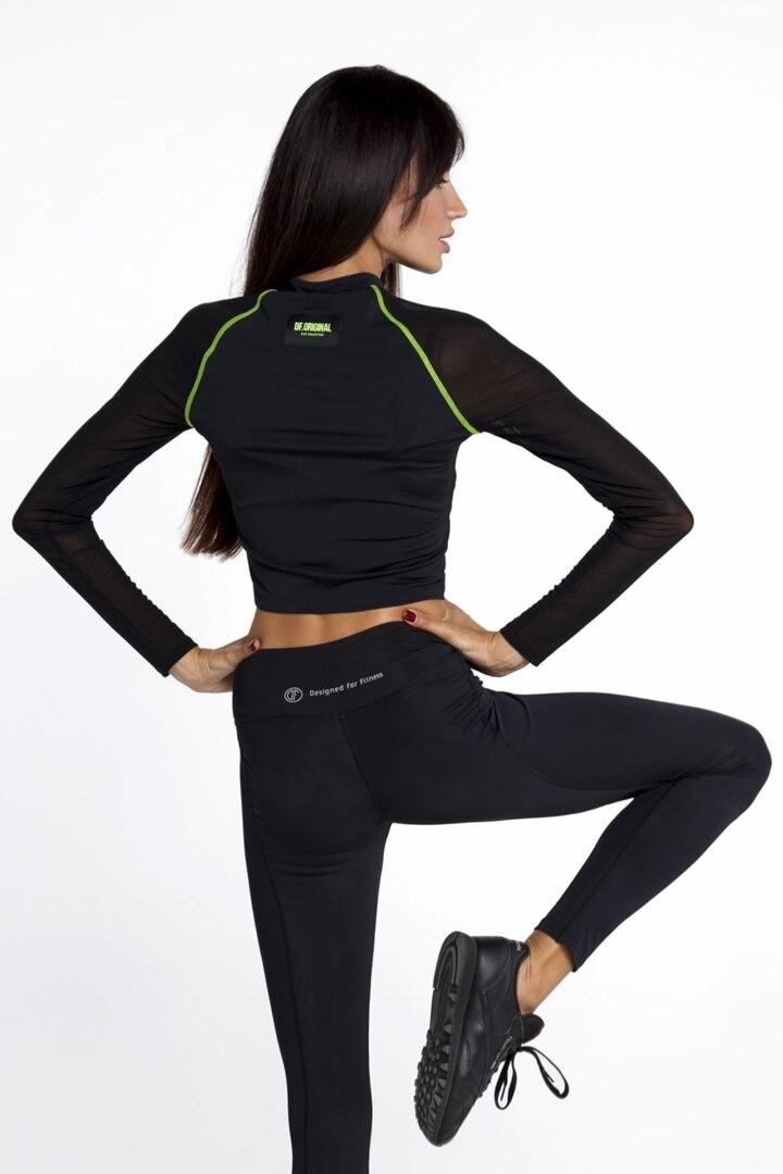 Женская теплая кофта, рашгард для фитнеса