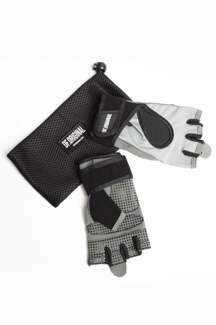 Перчатки для фитнеса Df Original серые