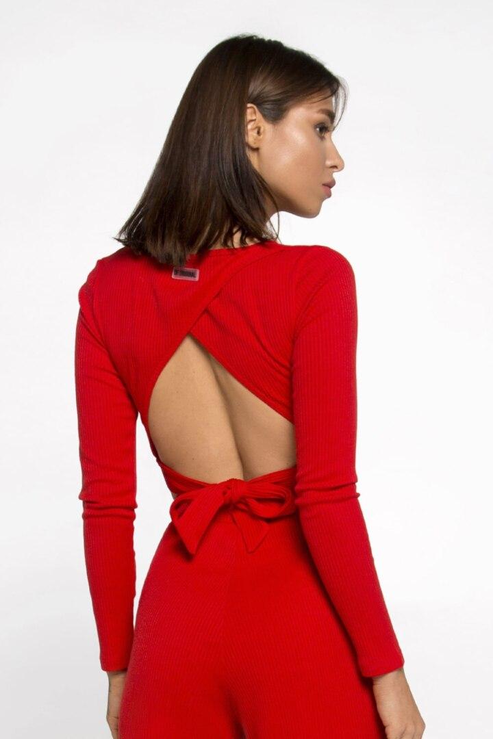 женский джемпер с мягкой ткани