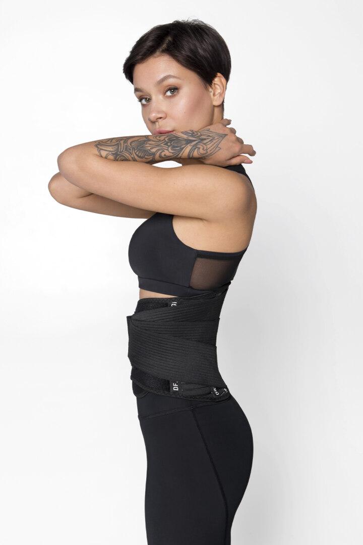Спортивный корсетный пояс для поддержки спины
