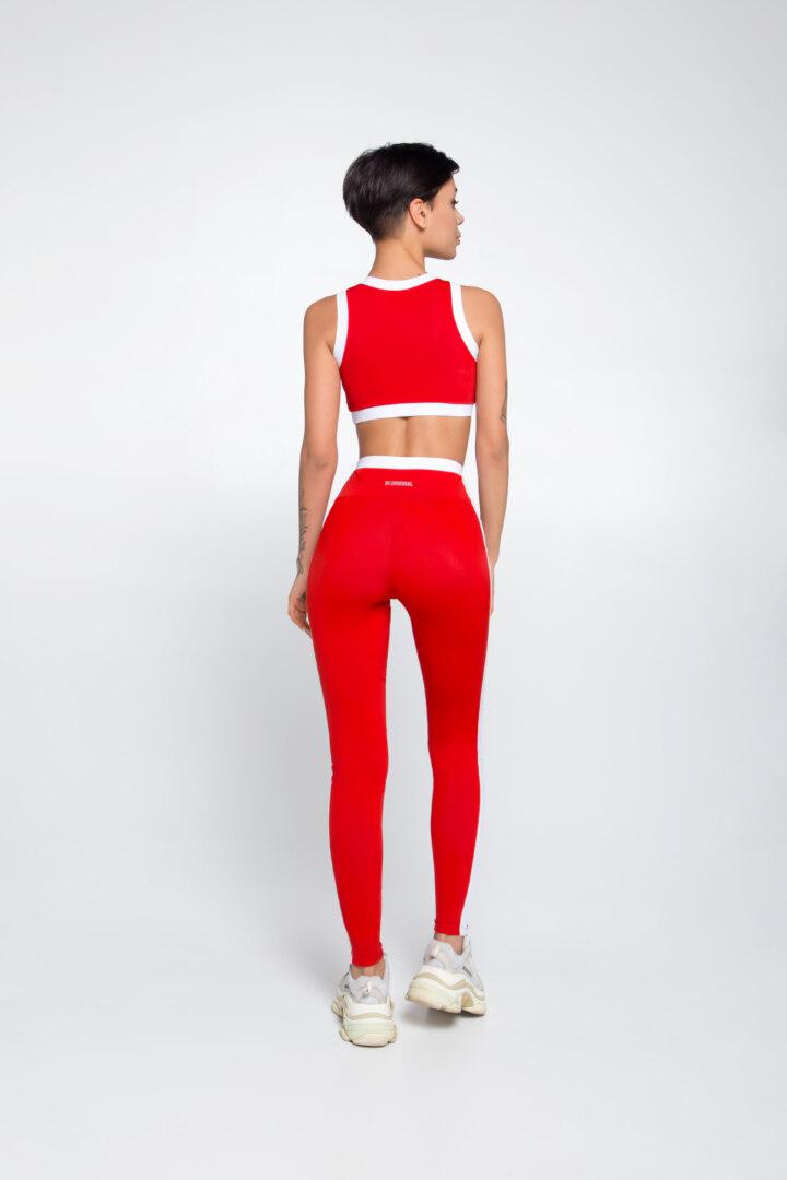 Красный комплект для тренировок