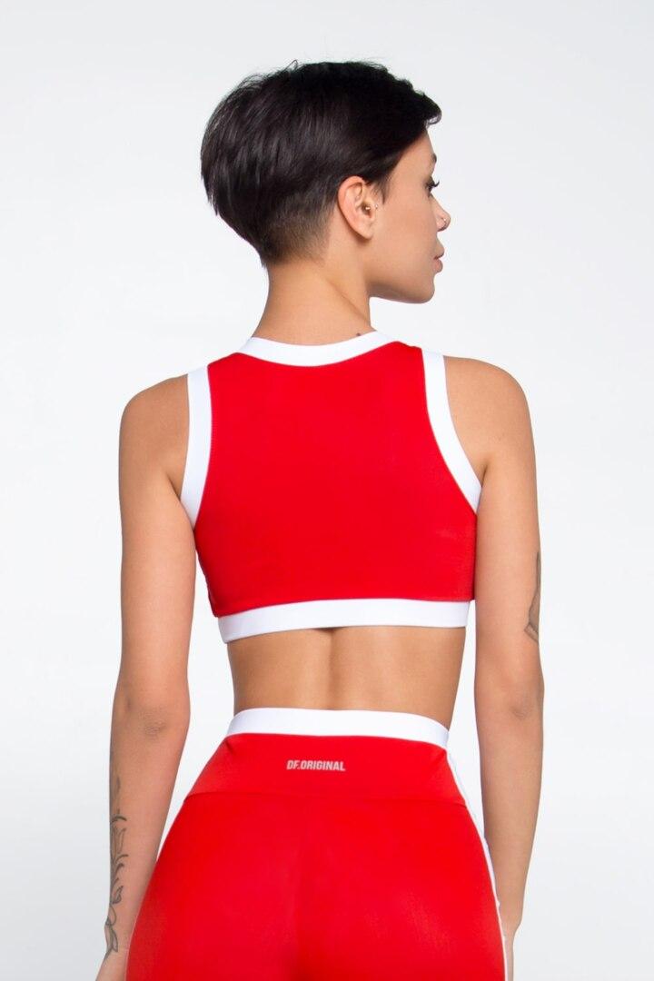 Топ красный для фитнеса и тренировок, купить в Киеве и Украине