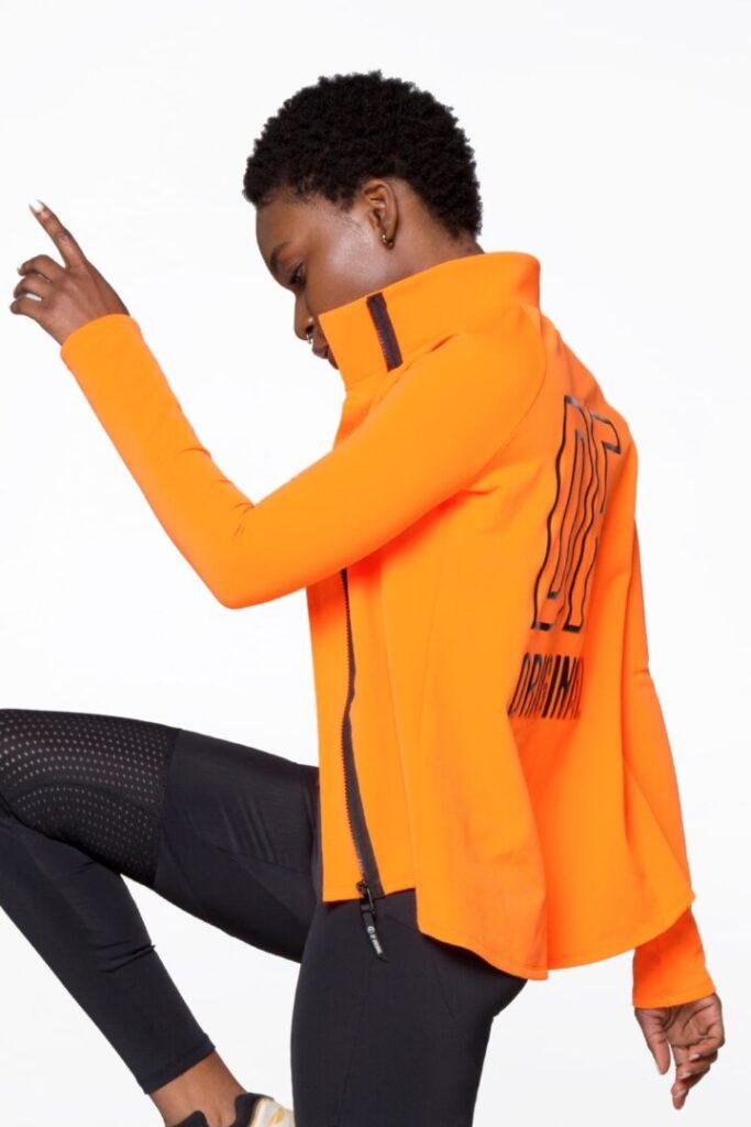Куртка с застежкой-молнией для пробеже на свежем воздухек